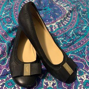 Kate Spade Black Ballet Flats